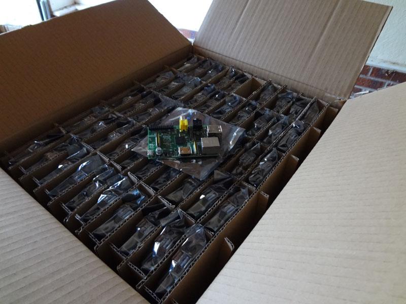Prva fotografija Raspberry Pi za splet