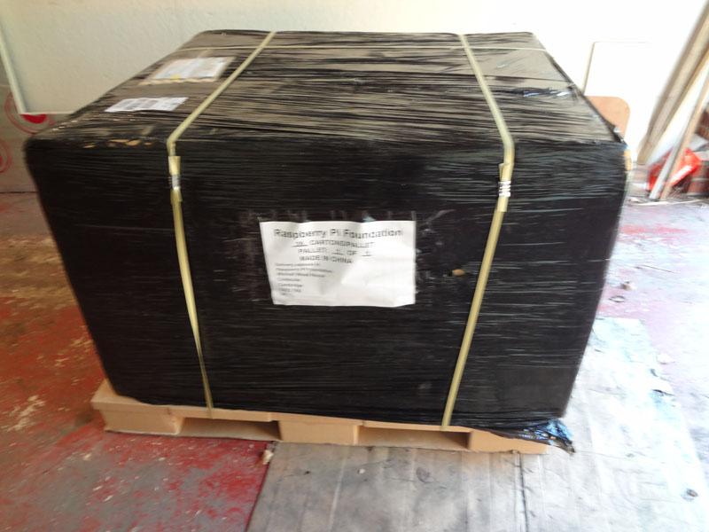 Prvih 2000 kosov mini računalnika Raspberry Pi