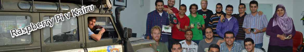 Raspberry Pi v Kairu