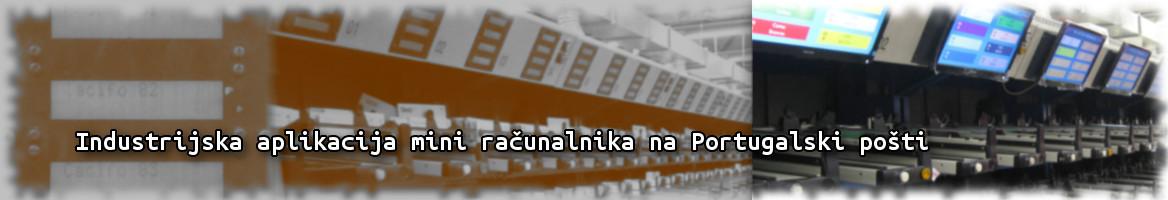Industrijska aplikacija mini računalnika na Portugalski pošti