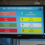 Raspberry Pi in monitor na Portugalski pošti