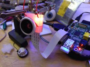 """Raspberry Pi kamera modul z lečami """"ribjega pogleda"""" (fish-eye)"""