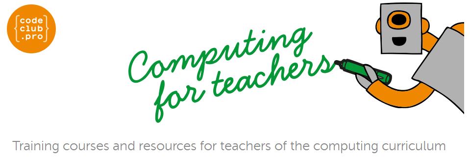 Code Club Pro - Računalništvo za učitelje