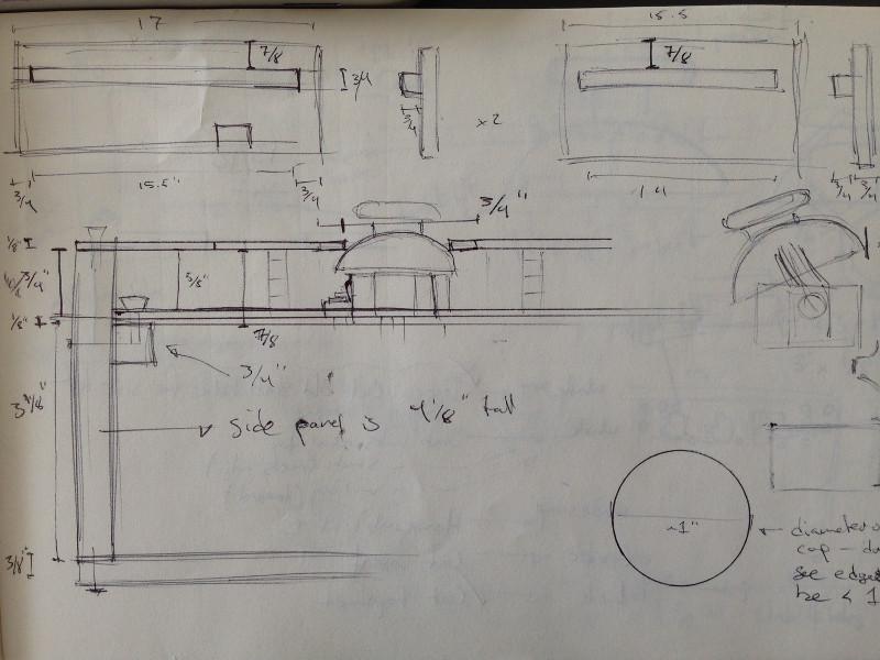 Načrt za izrez oblike Joytonea