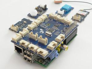 GrovePi+ na mini računalniku Raspberry Pi